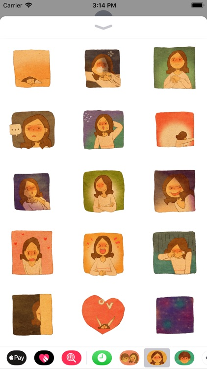Puuung Animated Stickers: She