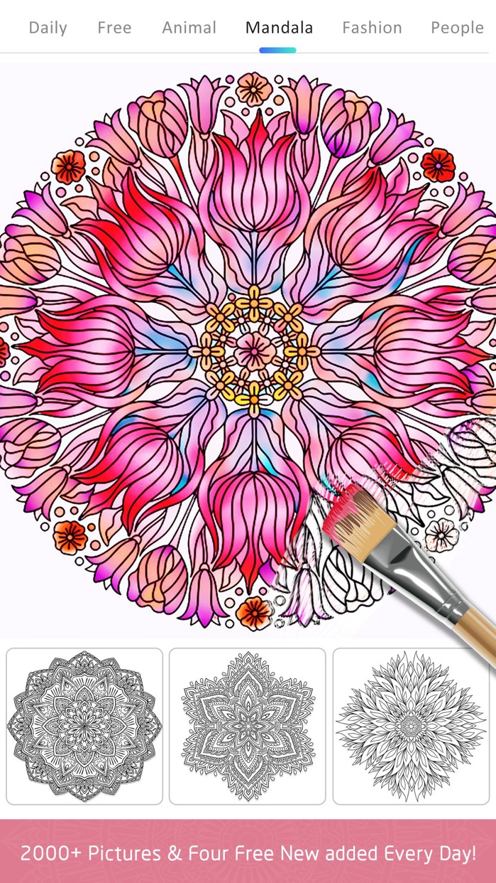 Colour Doodle Colouring Book Screenshot