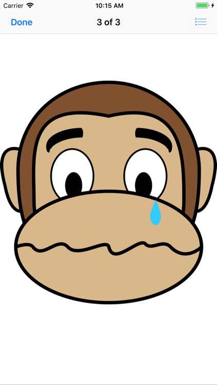 Monkey Face Emoji Stickers screenshot-3