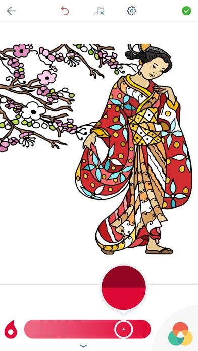 大人のための日本塗り絵のスクリーンショット3