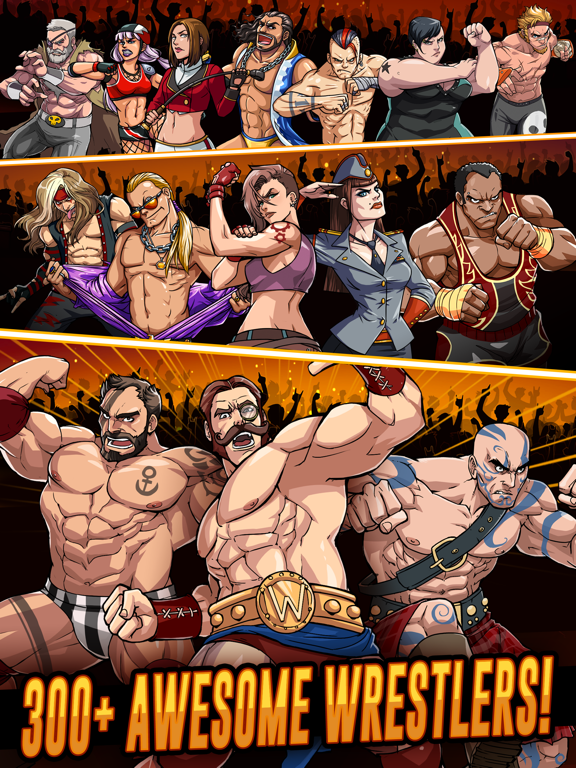 The Muscle Hustle: Wrestling Скриншоты7