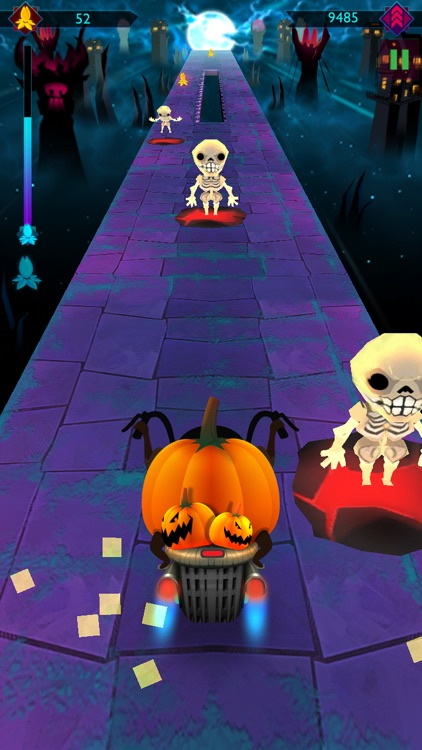 Halloween Night Ride Game screenshot-3
