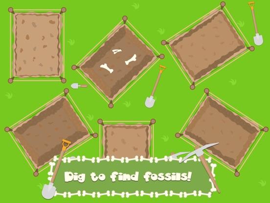Скачать игру Dino Fossil Dig - Jurassic Fun