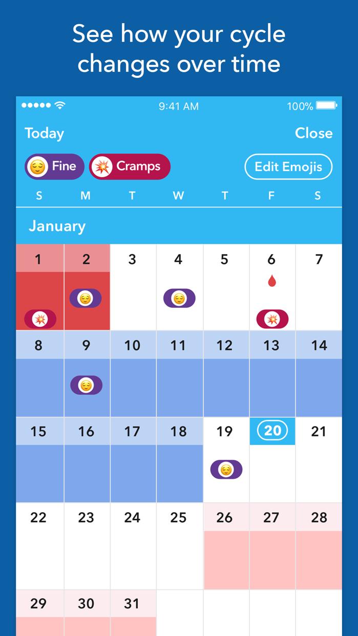 Spot On Period Tracker Screenshot