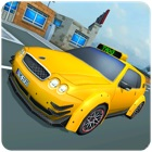 Blocky Taxi Drive Simulator 3D icon