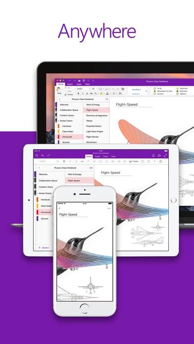 Microsoft OneNote Screenshots