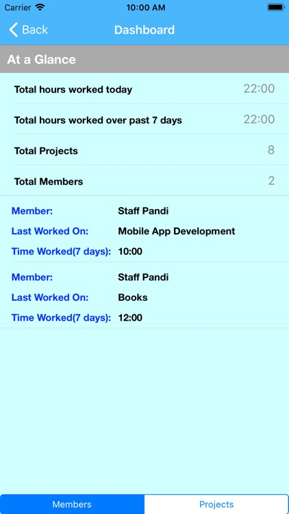 Time Management App screenshot-4