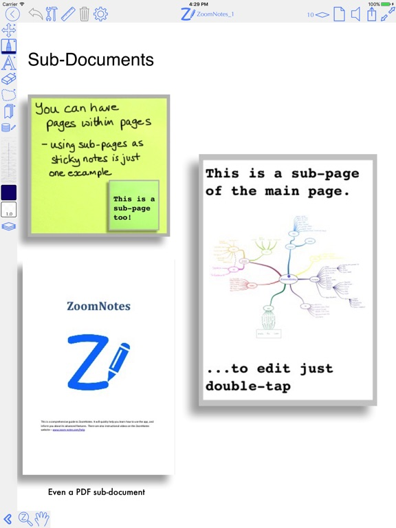 ZoomNotes Screenshots