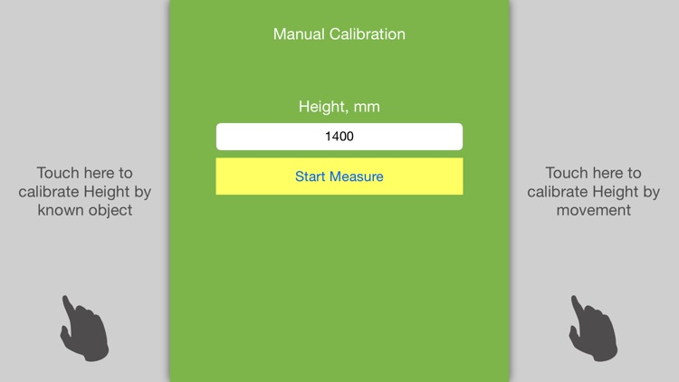 Telemeter. Distance and Height