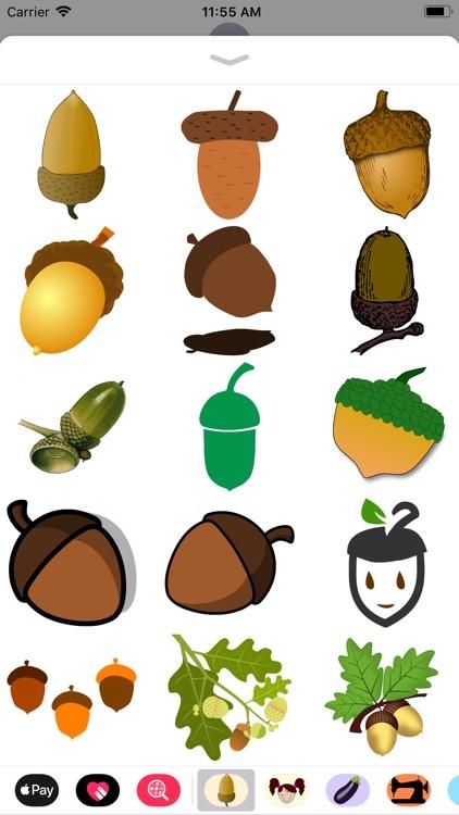 Acorn Stickers