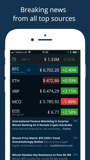 Hodl Real Time Cryptocurrency 4