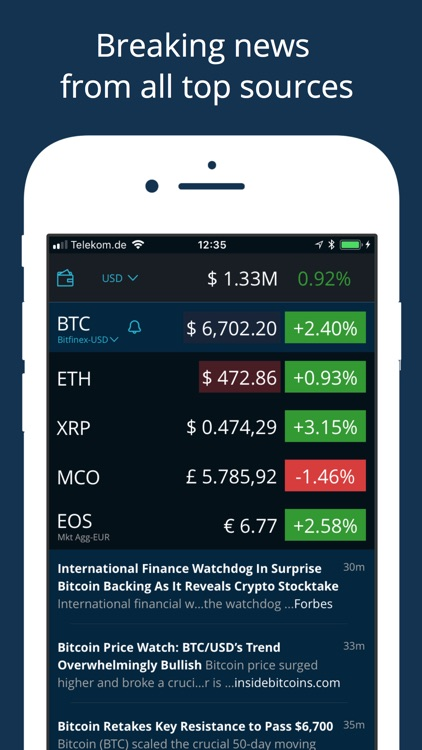 HODL Real-Time Cryptocurrency