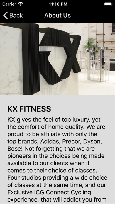 KX Fitness screenshot three