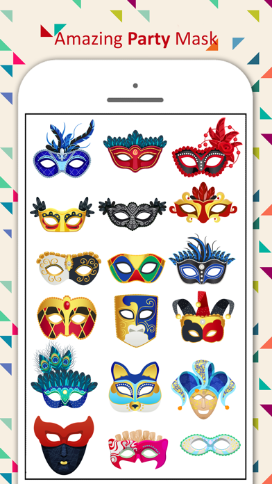 Party Mask Emoji screenshot 3
