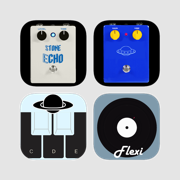 Selected music apps - 效果器,调谐器节拍器,合成器和转盘