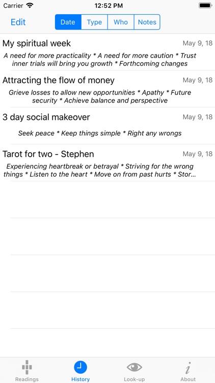 Tarot Lite screenshot-4