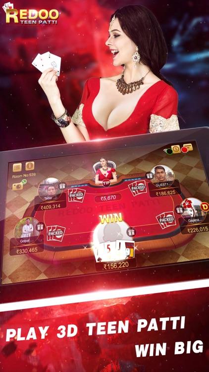 Redoo Teen Patti-Indian Poker screenshot-4