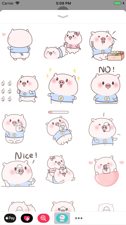 Smiley Pig Animated Stickers screenshot-3