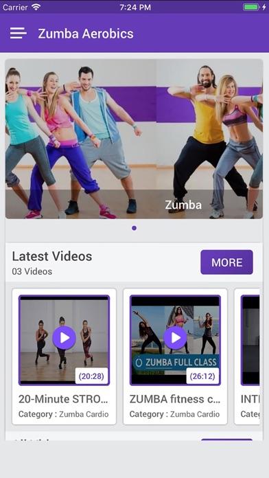 Zumba Dance Workout 2018 Screenshot on iOS