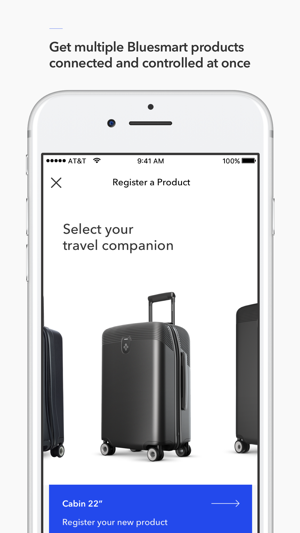 Bluesmart - Smart Luggage Screenshot