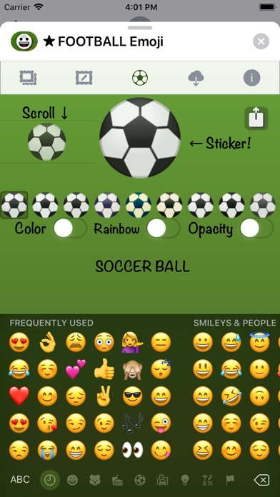 Football Emoji • Stickers screenshot 10