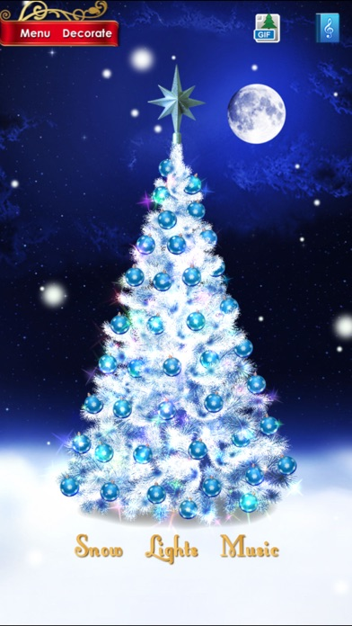 ... Screenshot #2 for Christmas Tree Pro ...