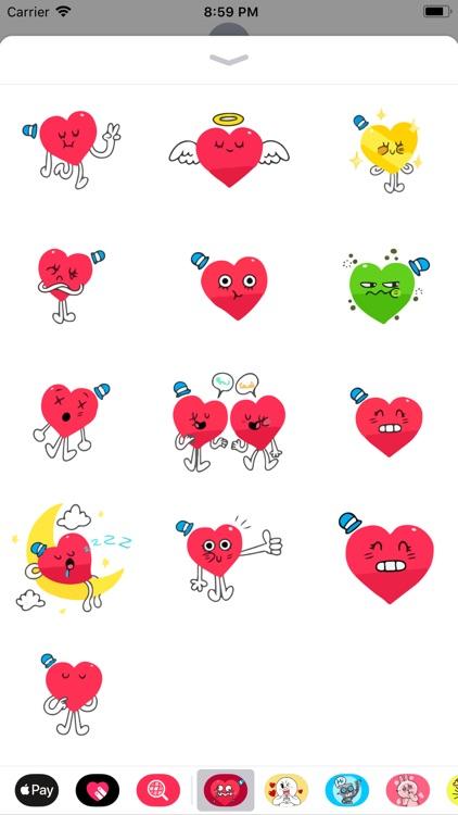 Love Emojis Lovely Emotes Pack