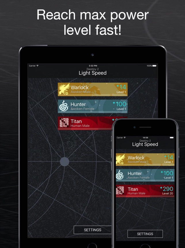 Light Speed for Destiny2 on the App Store
