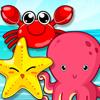 العاب حيوانات البحر للاطفال