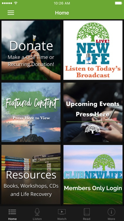 NEW LIFE MINISTRIES APP
