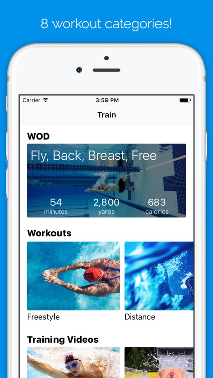 MySwimPro screenshot-0