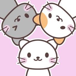 にゃんこステッカー【基本】