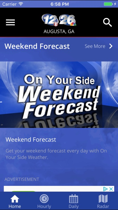WRDW On Your Side Weather for Windows