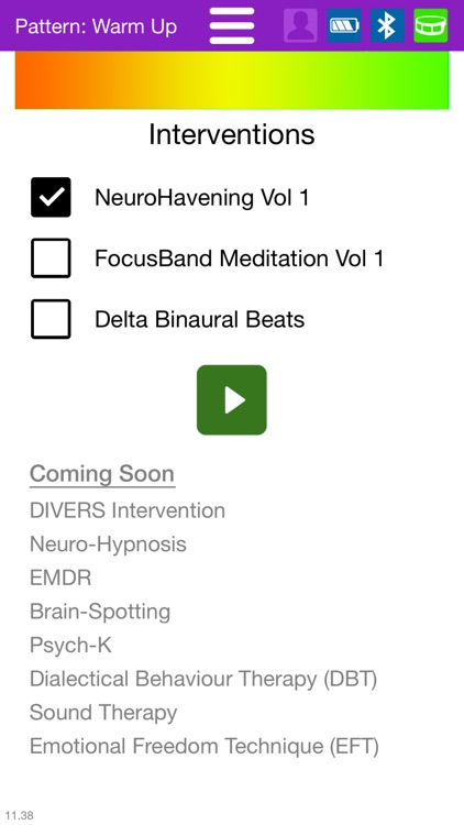 FocusBand NeuroSelfCare screenshot-3