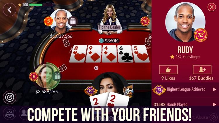 Zynga Poker - Texas Holdem screenshot-4