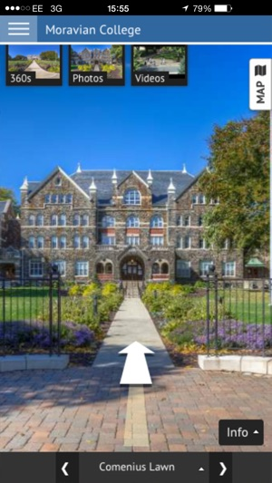 Moravian Campus Map.Moravian College Virtual Tour On The App Store