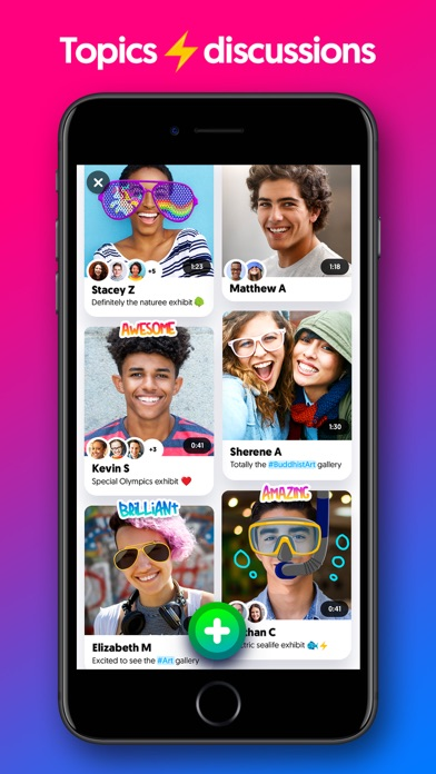 Screenshot for Flipgrid. in United States App Store