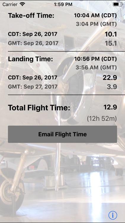 Flight Time Converter