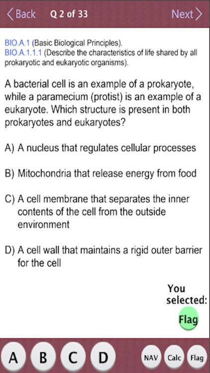TX STAAR Biology Practice Test screenshot-3