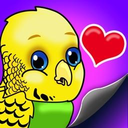 BudgieMoji - Parakeet Emojis