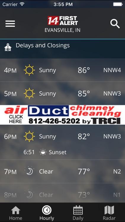 14FirstAlert Weather TriState screenshot-3