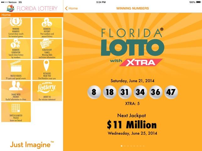 florida lottery app