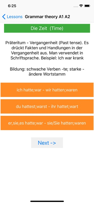 German Grammar Course A1 A2 B1 - Online Game Hack and Cheat