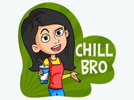 """Gossip Girls"" is  stickers with images of funny stickers"