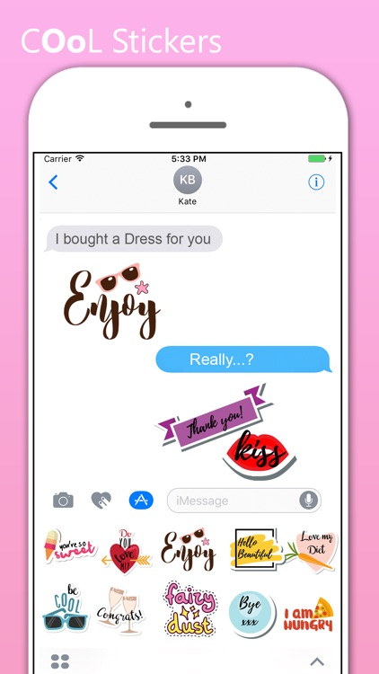 Smart Stickers For iMessages screenshot-3
