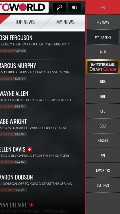 Rotoworld News & Draft Guides screenshot-3