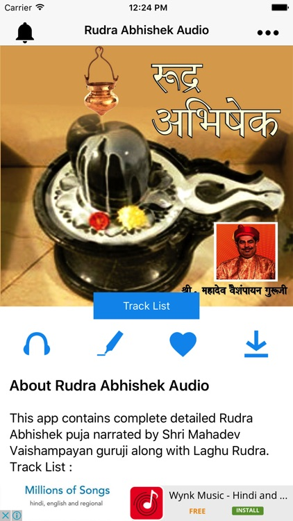 Rudra Abhishek Audio by SONIC OCTAVES PRIVATE LIMITED