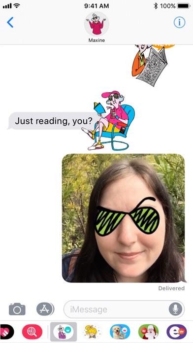 Maxine Stickers screenshot 4