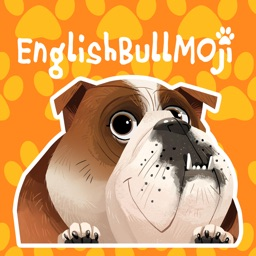 English Bulldog Emoji Stickers