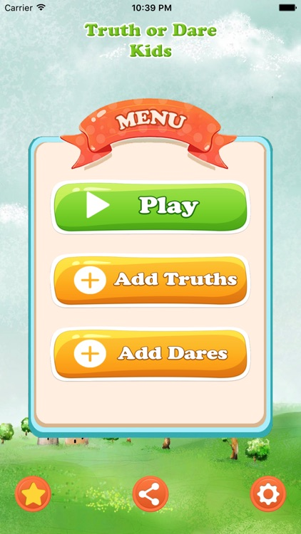 Truth Or Dare Kids Game